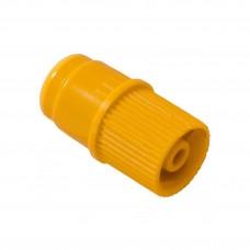 Заглушка Luer Lock желтый с инъекционной мембраной KD-Hеp IN-Stopper