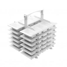 Укладка-пенал для хранения лекарств УПХЛ-01 ЕЛАТ (10 шт.) с поддоном-укладкой