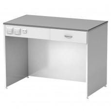 Лабораторный стол высокий без тумб СЛ-04-МСК (110 серия)