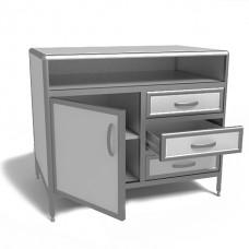Лабораторный стол-тумба СТЛ 2-09