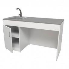 Лабораторный стол с мойкой СЛ-05-МСК (постформинг)