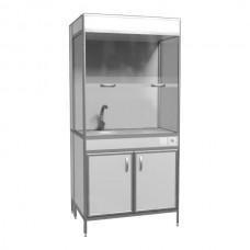 Шкаф вытяжной с мойкой ШВ 2-04
