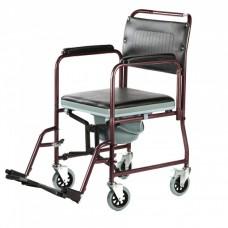 Кресло-каталка с туалетом FS902C (МК-СО12/43)