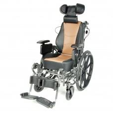Кресло-коляска FS204BJG большой грузоподъемностью