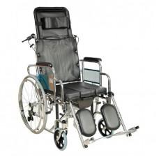 Кресло-коляска FS204BJG (MK-C010-46 с ручным тормозом, без ручного тормоза)