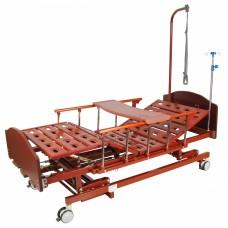 Кровать функциональная четырехсекционная E-31 MM-026Н с полкой и ростоматом NEW