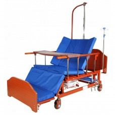 Кровать функциональная 10-ти секционная с функцией кардиокресла Е-45А ММ-152Н NEW