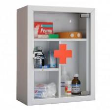 Аптечка навесная со стеклянной дверцей