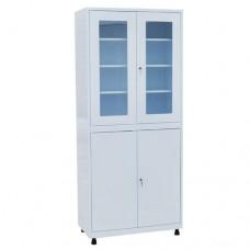 Шкаф металлический с двумя створками для кабинета врача ШКВ-01
