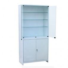 Шкаф металлический с двумя створками ШМС-2