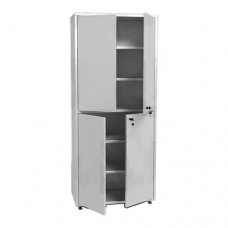 Шкаф металлический с двумя створками МСК-648.01