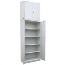 Шкаф архивно-складской металлический с 4-мя полками и антресолью