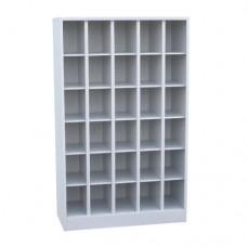 Шкаф архивно-складской металлический на 30 отделений