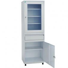Шкаф металлический с одной створкой ШМД-03