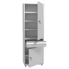 Шкаф металлический с одной створкой ШММ-1-Р-1