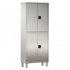 Шкаф металлический с двумя створками и ригельным замком МСК-5647.01-11