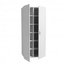 Шкаф для одежды двухстворчатый из ЛДСП ШК-1.3 на опорах