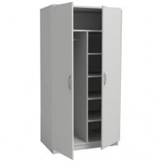 Шкаф для одежды двухстворчатый из ЛДСП ШО 2/03 без опор