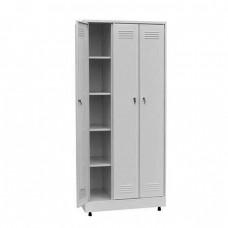 Шкаф для одежды трёхстворчатый металлический ШП-03