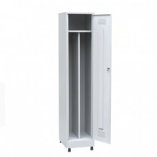 Шкаф для одежды одностворчатый металлический ШП-04