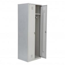 Шкаф для одежды двухстворчатый металлический МСК-2921.800