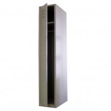 Шкаф для одежды одностворчатый металлический МСК-941.300