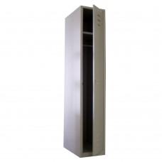 Шкаф для одежды одностворчатый металлический МСК-941.425