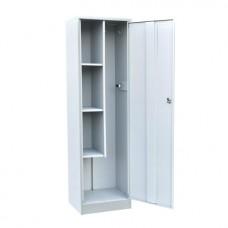 Шкаф металлический для хозяйственного инвентаря