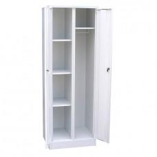Шкаф металлический для хозяйственного инвентаря шириной 600 мм