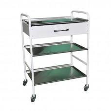Столик инструментально-процедурный с одним ящиком СИ-06