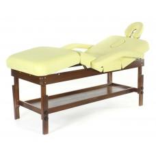 Стационарный массажный стол деревянный FIX-0A (МСТ- 15Л)