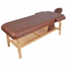 Стационарный массажный стол деревянный FIX-MT2 (МСТ-31Л)
