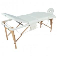 Стол массажный складной деревянный 3-х секционный (МСТ-103Л) М/К JF-AY01
