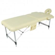 Стол массажный складной алюминиевый 2-х секционный JFAL01A (МСТ-002Л)