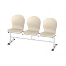 Секция стульев 3-ех местная МСК-237.01