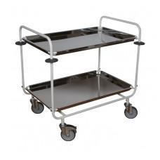 Тележка для транспортировки пищи и сбора грязной посуды ТПП-1