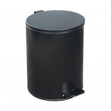 Урна педальная круглая на 15 литров