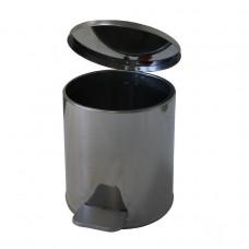 Урна педальная круглая на 10 литров