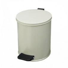 Урна педальная круглая на 7 литров