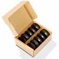 Набор массажных камней из базальта 10 шт. СПА-9
