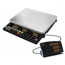 Весы торговые с выносным индикатором МК-Т21 (ЖК индикатор, питание сеть/аккумулятор)