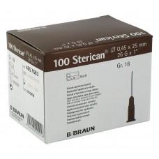 Игла инъекционная 26G (0,45 x 25 мм) B.Braun