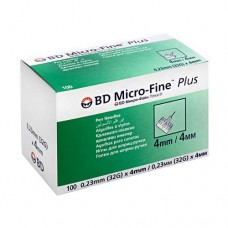 Игла для шприц-ручки 32G (0,23 x 4,0 мм) BD Micro-Fine Plus