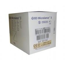 Игла инъекционная 19G (1,1 x 25 мм) BD Microlance