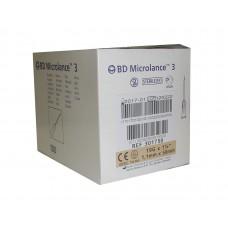 Игла инъекционная 19G (1,1 x 50 мм) тонкая стенка BD Microlance