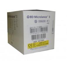 Игла инъекционная 20G (0,9 x 40 мм)  тонкая стенка BD Microlance