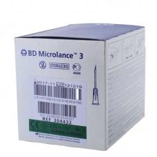 Игла инъекционная 21G (0,8 x 40 мм) тонкая стенка BD Microlance