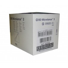 Игла инъекционная 22G (0,7 x 30 мм) тонкая стенка BD Microlance