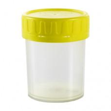 Контейнер Vacuette для сбора мочи с градуировкой, желтая крышка 100 мл (300 шт. упак.)