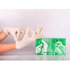 Перчатки латекс, текстура на пальцах, Powder, нестерил, неанат/ф (№100) Sempercare